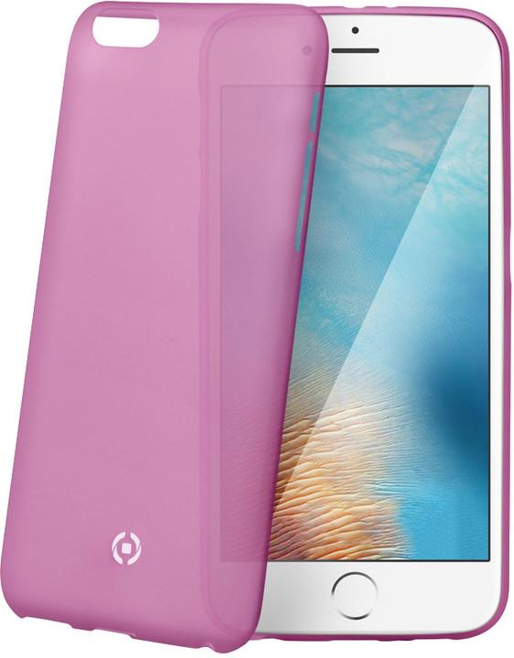 CELLY Frost pouzdro pro Apple iPhone 7 Plus, 0,29 mm, růžová