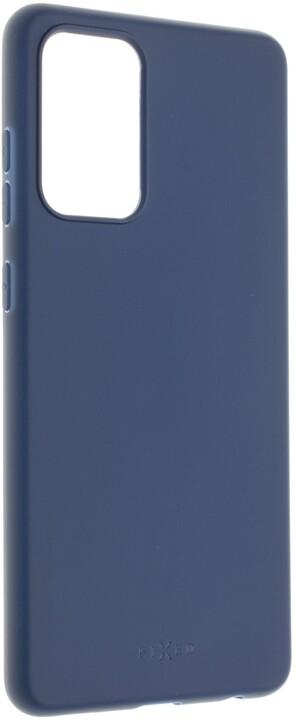 FIXED pogumovaný kryt Story pro Samsung Galaxy A72/A72 (5G), modrá