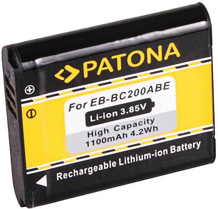 Patona baterie pro videokameru Samsung Gear 360 1100mAh Li-Ion EB-BC200ABE