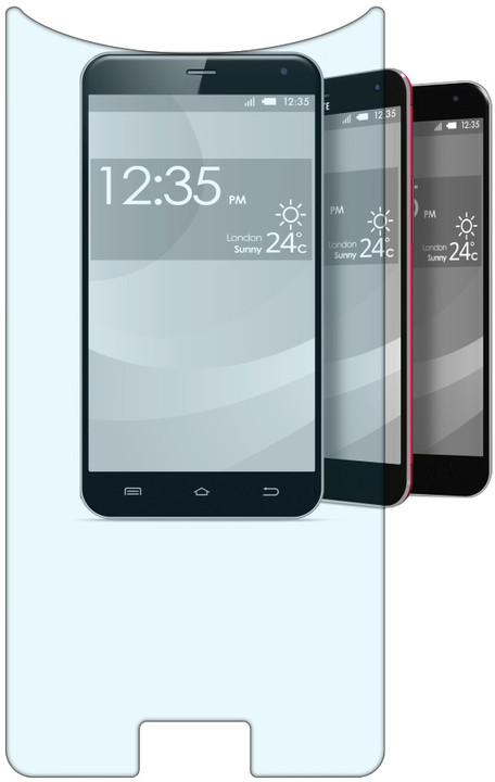 CellularLine SECOND GLASS univerzální temperované sklo pro telefony o velikosti 5.3''až 5.5''