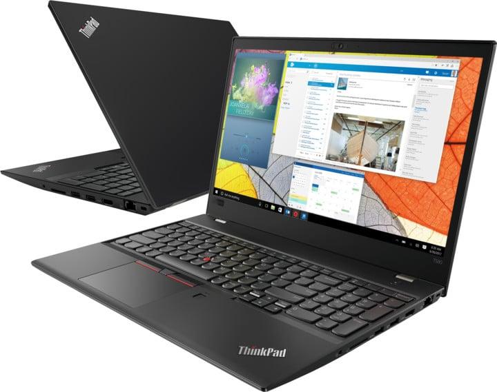 Lenovo ThinkPad T580, černá