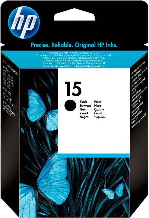 HP C6615NE, černá, č. 15