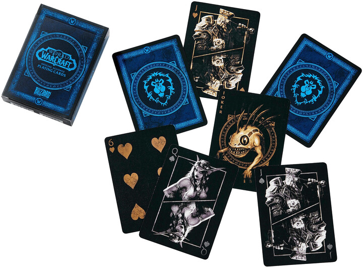 Herní karty World of Warcraft - Alliance