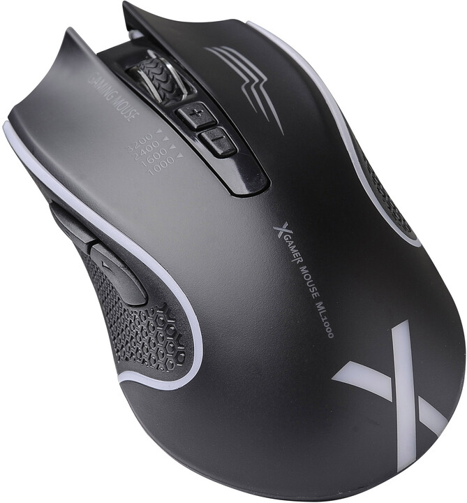 X-Gamer ML1000, černá