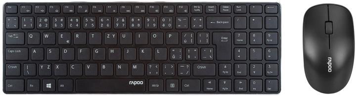 Rapoo set X9310, černá