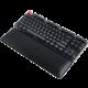 Glorious Padded Keyboard Wrist Rest - Stealth Edition Tenkeyless Slim, černá