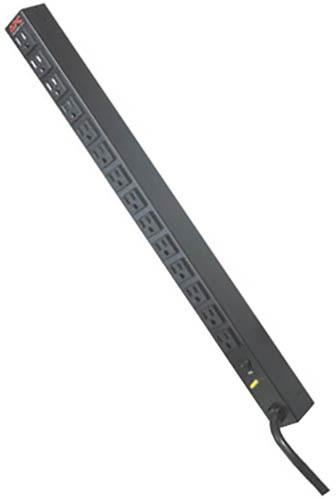 APC rack PDU, Zero U, 20A, 120V, (14)5-15
