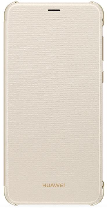 Huawei Original folio pouzdro pro Huawei P Smart, zlatá