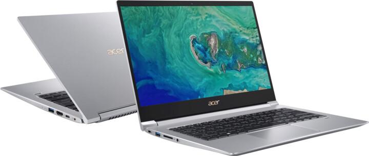 Acer Swift 3 celokovový (SF314-55-521G), stříbrná