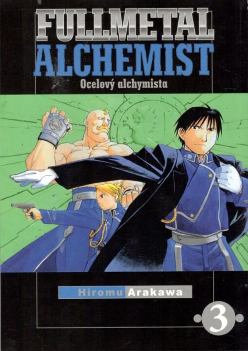 Komiks Fullmetal Alchemist - Ocelový alchymista 03