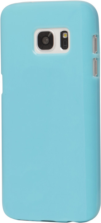 EPICO plastový kryt pro Samsung Galaxy S7 SPARKLING - tyrkysový