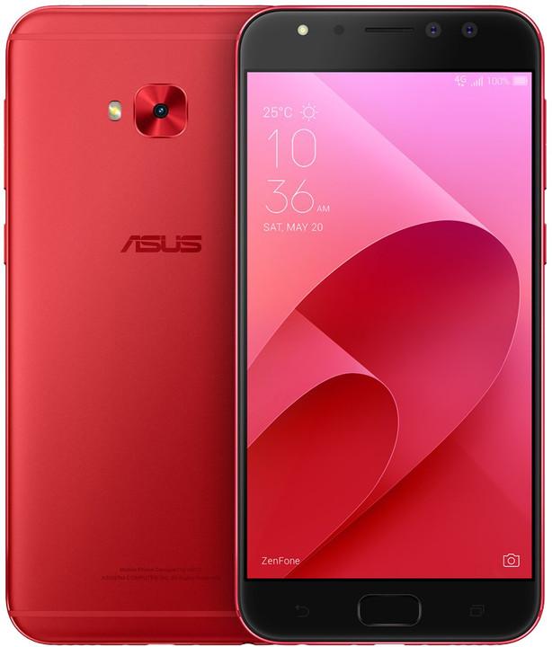 ASUS ZenFone 4 Selfie Pro ZD552KL-5C023WW, červená