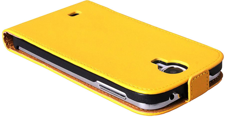 Patona pouzdro pro Samsung Galaxy S4 (I9505), žlutá hladká
