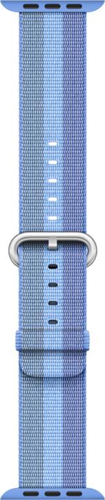 Apple watch náramek 42mm Tahoe Blue Woven Nylon