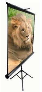 """Elite Screens plátno mobilní trojnožka 84"""", 127 x 170,2cm"""