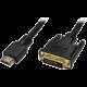 Evolveo DVI - HDMI kabel, 1,8m