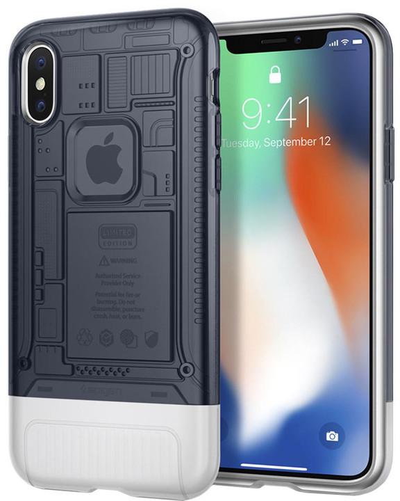 Spigen Classic C1 pro iPhone X, šedá