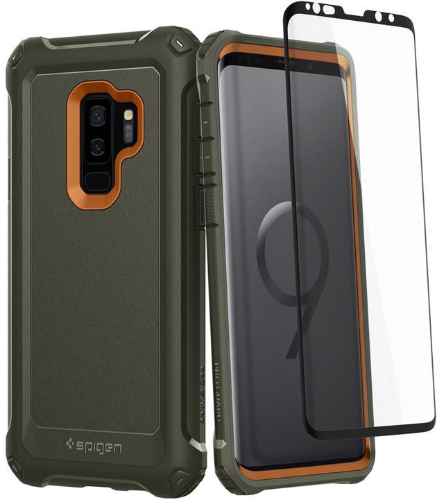 Spigen Pro Guard pro Samsung Galaxy S9+, army green