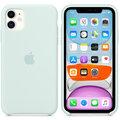 Apple silikonový kryt na iPhone 11, bledě zelená