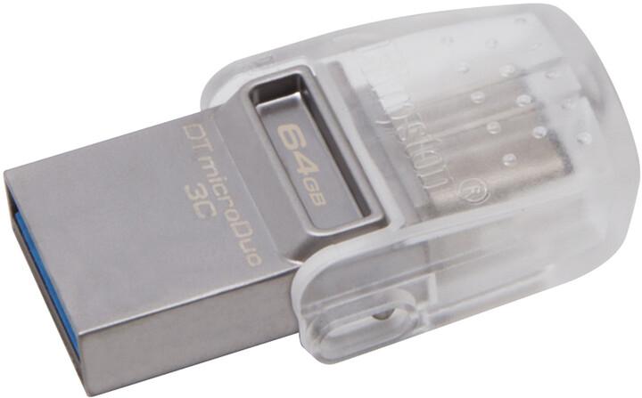 Kingston DataTraveler microDuo 3C - 64GB