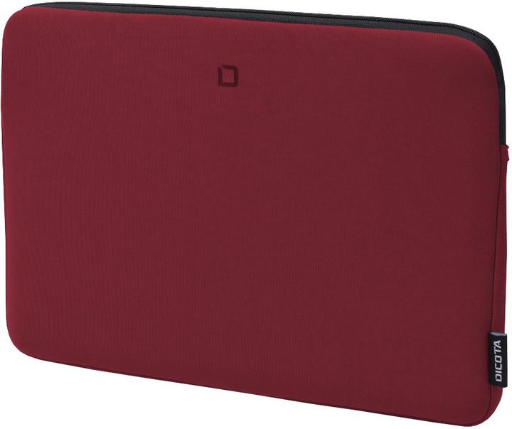 """DICOTA Skin BASE - Pouzdro na notebook 15.6"""" - červená"""