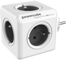 PowerCube ORIGINAL rozbočka-5ti zásuvka, šedá - 8718444085911