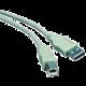 PremiumCord kabel USB 2.0, A-B, 0.5m