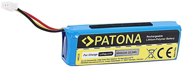 PATONA baterie pro reproduktor JBL Charge 1, 6000mAh, 3.7V, Li-Pol