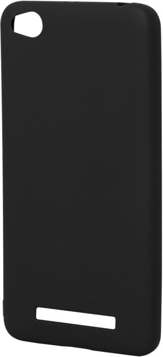 EPICO pružný plastový kryt pro Xiaomi Redmi 4A SILK MATT - černý