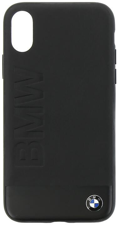 BMW S & Blast Soft zadní kryt pro iPhone X, černý