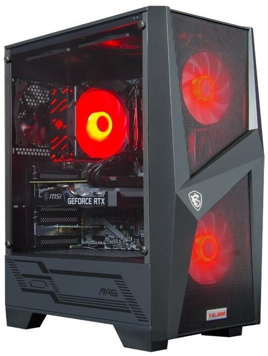 HAL3000 Master Gamer 3060 Ti IEM, černá