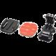 """Apei vertikální """"J-Hook"""" držák s nalepovacím držákem (GoPro 4/3+/3/2/1, Xiaomi Yi)"""