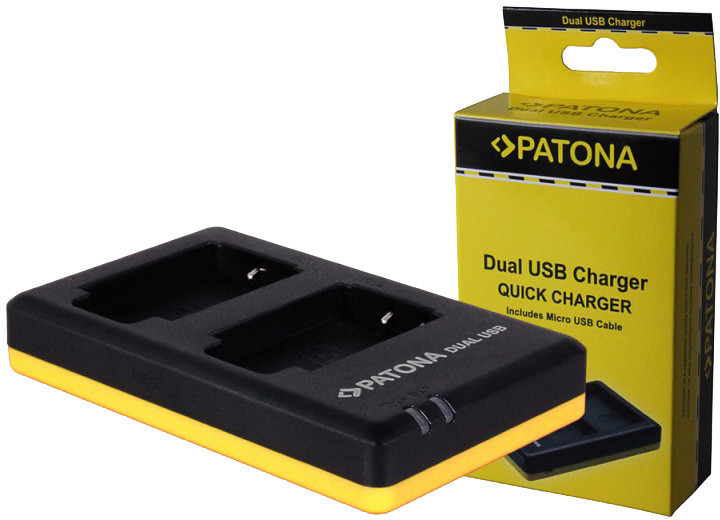 Patona nabíječka Dual Quick Olympus Li-50B USB