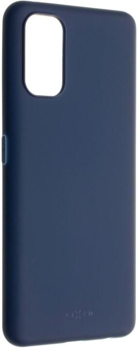 FIXED pogumovaný kryt Story pro Realme 7 Pro, modrá