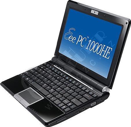 ASUS Eee PC 1000HE EPC1000HE-BLK015X, černý (9.5 h výdrž baterie)