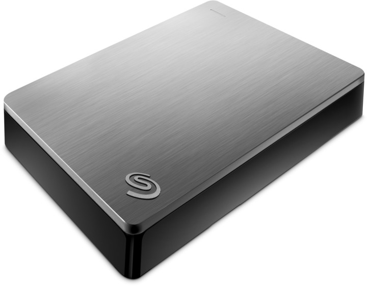 Seagate Backup Plus Portable 5TB, stříbrná