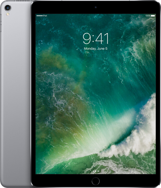 Apple iPad Pro Wi-Fi + Cellular, 10,5'', 256GB, šedá