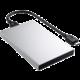 Satechi Aluminum Type-C HDD/SSD Enclosure, stříbrná