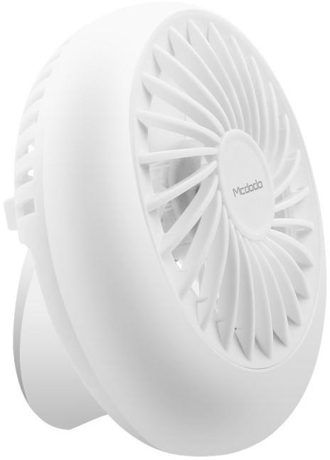 Mcdodo Mini USB Fan vetráček na stůl, bílá