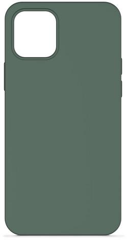 """EPICO silikonový kryt pro iPhone 12/12 Pro (6.1""""), tmavě zelená"""
