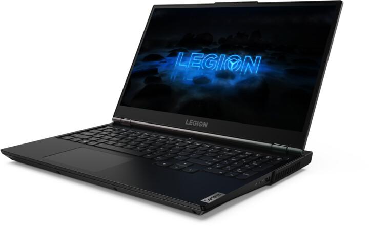 Lenovo Legion 5-15IMH05H, černá