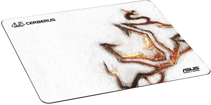 ASUS Cerberus Arctic podložka pod myš, bílá, látková