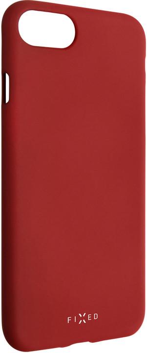 FIXED zadní silikonový kryt Story pro Huawei Y7 (2019), červená