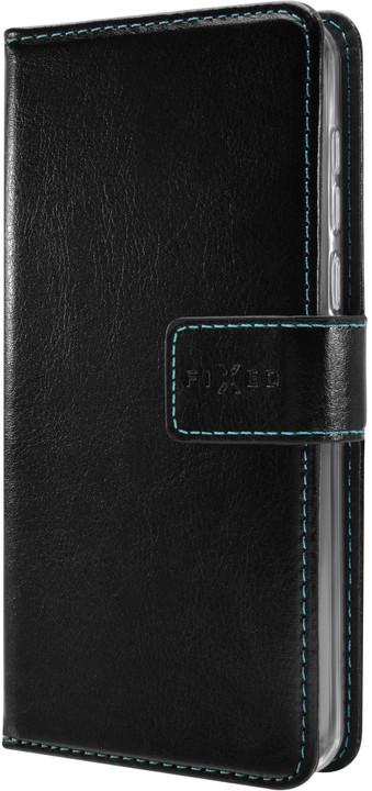 FIXED pouzdro typu kniha Opus pro Apple iPhone XR, černé