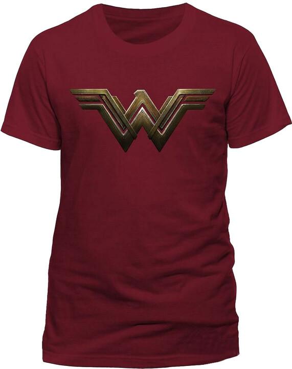 Tričko DC Comics - WW logo (L)