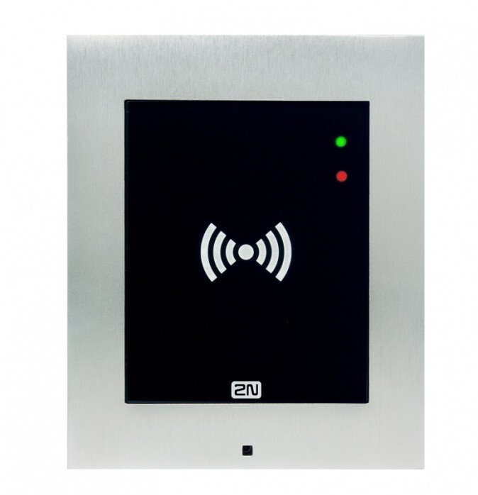 2N Access Unit 2.0 RFID, IP čtečka secured 13,56 MHz, NFC, bez rámečku