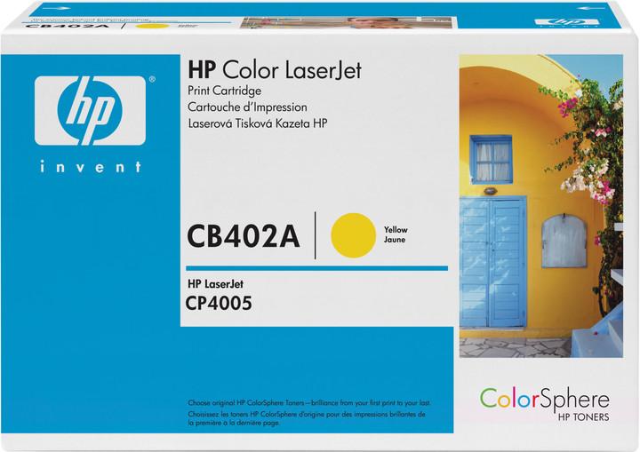 HP CB402A, žlutý