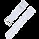 Xiaomi řemínek pro Amazfit Bip, bílá  + Při nákupu nad 500 Kč Kuki TV na 2 měsíce zdarma vč. seriálů v hodnotě 930 Kč