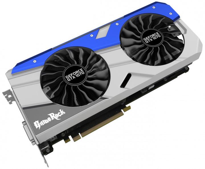 PALiT GeForce GTX 1070 GameRock Premium Edition, 8GB GDDR5