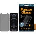 PanzerGlass ochranné sklo Standard Privacy pro iPhone 12/12 Pro, antibakteriální, 0.4mm, čirá